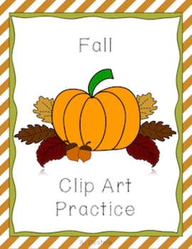 Fall Clip Art Practice