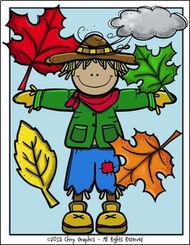 All Things Fall Clip Art Set - Chirp Graphics