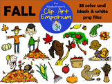 Fall Clip Art - The Schmillustrator's Clip Art Emporium