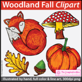 Fall Clip Art | Woodland Theme
