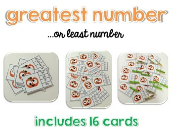 Fall Clip Cards: Numbers, Telling Time, Beg & Ending Sounds, Facts & More