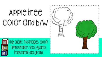 Fall Clipart: Apple Tree