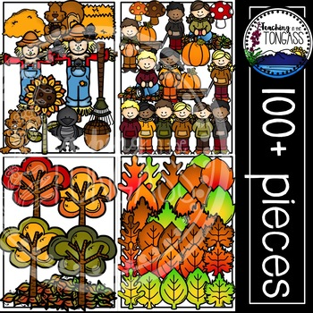 Fall Clipart MEGA Bundle