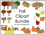 Fall Clipart Bundle