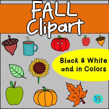 Fall Clipart -  Commercial Use
