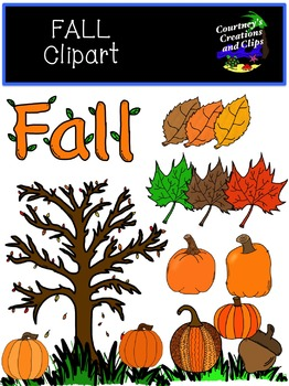 Fall Clipart {Commercial and Personal Use}
