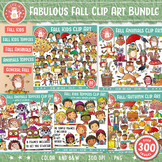 Fall Clipart Growing Bundle