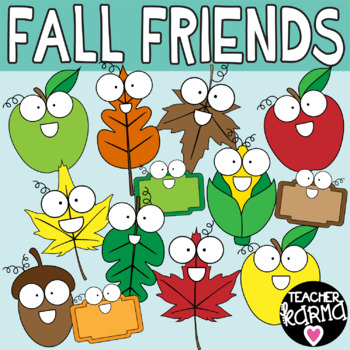 Fall Clipart, Leaves Graphics