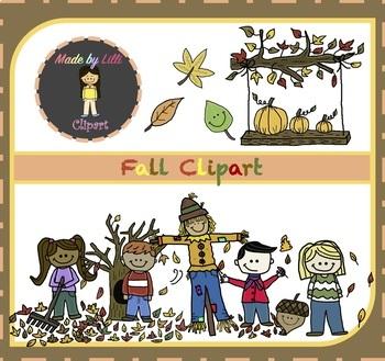 Fall Clipart / Autumn Clipart {Fall Clipart}