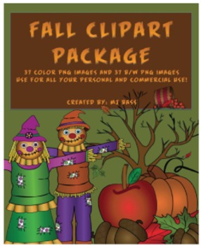 Fall Clipart Package