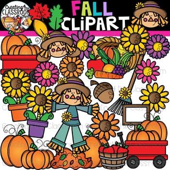 Fall Clipart {Seasons Clipart}