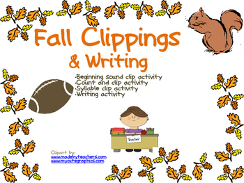 Fall Clippings and Writing