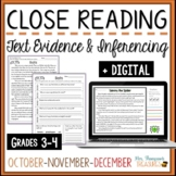 Reading Comprehension - October, November, December