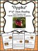 Fall Close Reading BUNDLE Grades 3-6- NO PREP Lesson Plans, Graphic Organizers