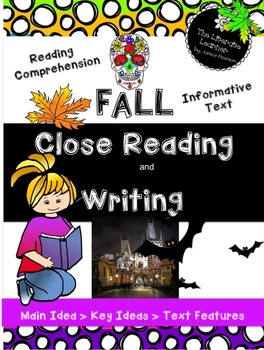 Fall Close Reading and Writing Informative Text 2nd & 3rd Grade