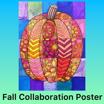 Fall Activity- Pumpkin Collaboration Poster