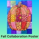 Fall Activity- Pumpkin Collaboration Poster