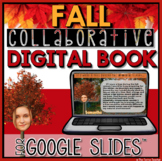 Fall Collaborative Digital Book in Google Slides™