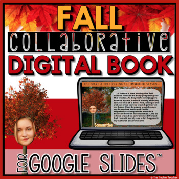Fall Collaborative Digital Book in Google Slides
