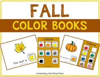Fall Color Books (Adapted Books)