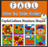 Fall Color By Code Kindergarten