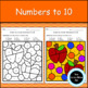 Fall Color By Code Numbers to 10 Activities