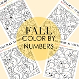 Fall Color By Numbers by Taracotta Sunrise