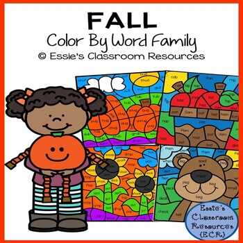 Fall Color By Word Family