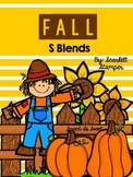 Fall Articulation Activities: S Blends