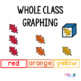 Fall Color Graphing Activities | Color Graphing | Fall Math Centers