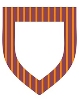 """Fall Color Striped Pennants - 20-Pack - 8.5"""" x 11"""""""