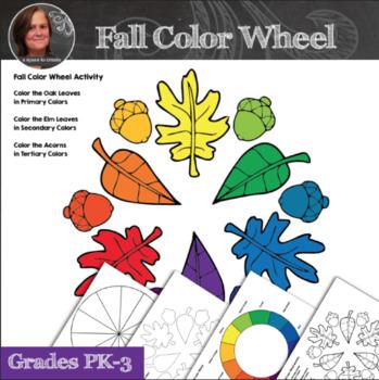 Fall Color Wheel Activity - Color Wheel Art Activity