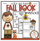 Fall Color and Trace Book