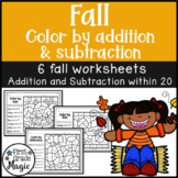 Fall Color by Addition and Subtraction
