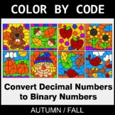 Fall Color by Code - Binary Numbers