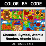 Fall Color by Code - Chemical Symbol, Atomic Number, Atomic Mass