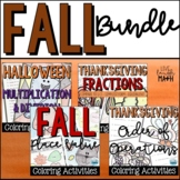 Fall Color by Numbers: Grades 4-5