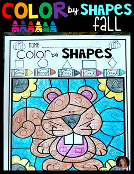 Fall Color by Shapes