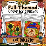 Fall Color by Symbol (for Music)