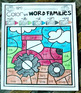 Fall Color by Code Word Families Activities