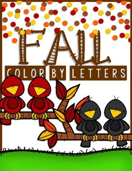 FALL COLOR BY LETTERS and MORE!