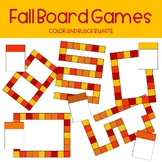Fall Colored Board Game Clipart