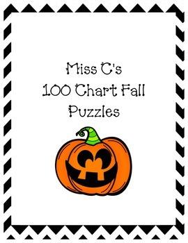 Fall Coloring 100s Charts