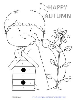 Autumn/Fall Coloring Activity Angles & Parallel Lines cut by a Transversal