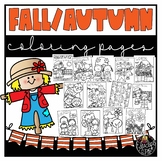 Fall Coloring Book {Educlips Resources}
