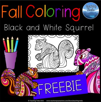 Fall Coloring Free