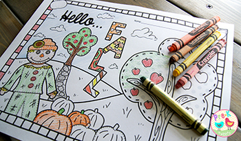 Fall Coloring Pages