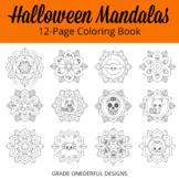 Fall Coloring Pages: Autumn Mandala