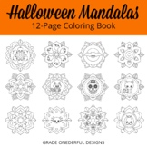 Halloween Mandalas Coloring Pages