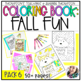 Fall Coloring Pages | Coloring Sheets | Fall Coloring Book